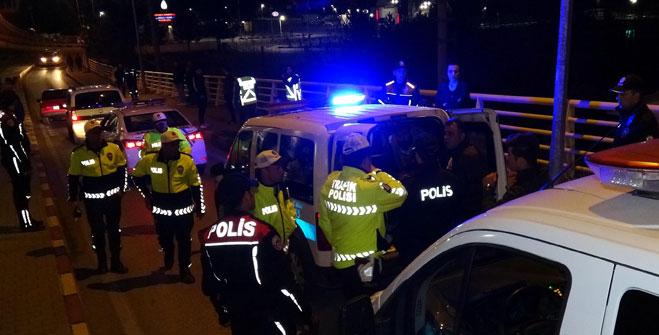 POLİSTEN KAÇAMADI